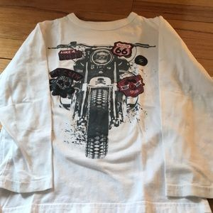 Children's Place motorcycle tee